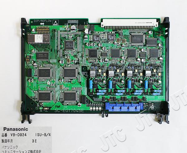 パナソニック(Panasonic) VB-D924 ISU-B/4 DSU内蔵ISDN基本インターフェース局線ユニット(4回線)
