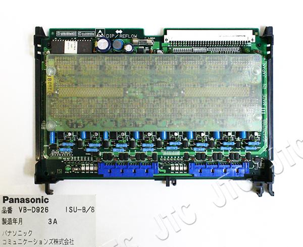 パナソニック (Panasonic) VB-D926 ISU-B/8 DSU内蔵ISDN基本インターフェイス局線ユニット(8回線)