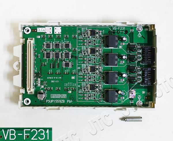 パナソニック VB-F231 4回線デジタル多機能電話機ユニット DLC4
