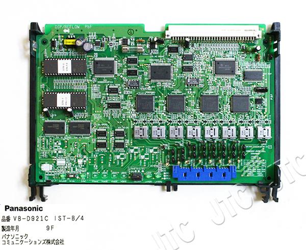 パナソニック VB-D921C IST-B/4 ISDN基本インターフェース局線ユニット(4回線)