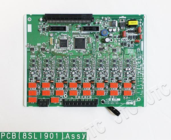 サクサ(SAXA) PCB〔8SLI901〕Assy 単独電話(8)増設ユニット