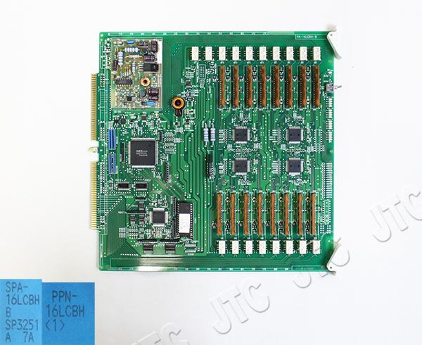 NTT PPN-16LCBH(1) PPN形16回線アナログ内線パッケージBH「1」