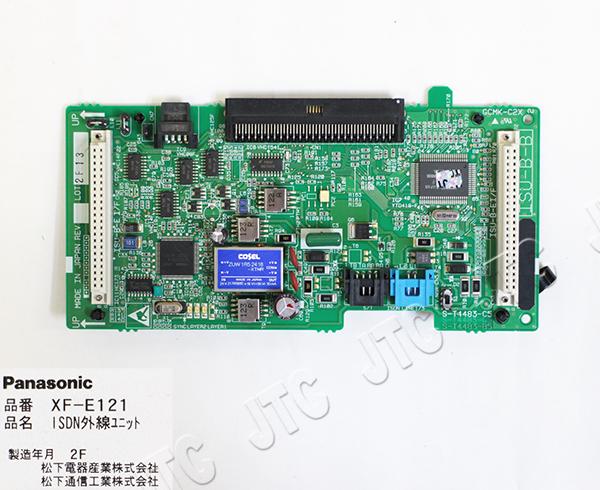 パナソニック(Panasonic) XF-E121 ISDN外線ユニット