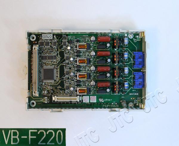 パナソニック(Panasonic) VB-F220 4回線アナログ外線ユニット COT4