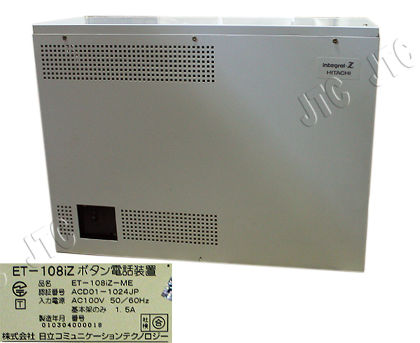ET-108iZ-ME  ET-108iZ基本架