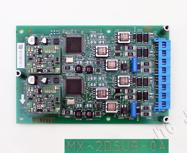 日立 MX-2DSUB-0A 2回路ディジタルサービスユニットA(MX)