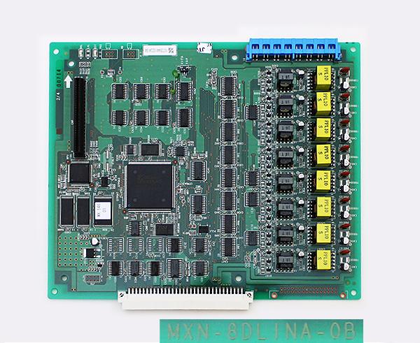 日立 MXN-8DLINA-0B 8回路ディジタル電話機ライン回路A