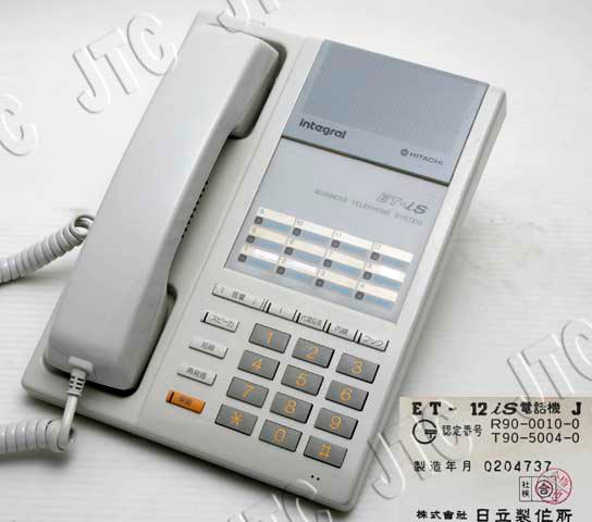 ET-12iS TEL J 外線12ボタン標準型電話機
