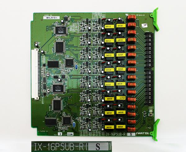 岩通 IX-16PSUB-R(S) 16回路KTインターフェース