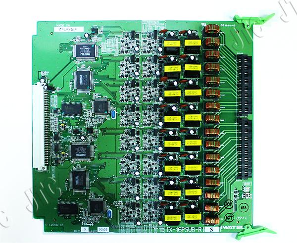 岩通 IX-16PSUB-R 内線端末ユニット16回路