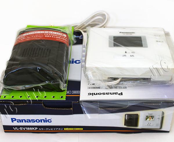 パナソニック(Panasonic) VL-SV188KP カラーテレビドアホン