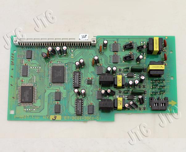 ET-2COI+2DCI-Gi 2回線外線インタフェース+2回線ボタン電話機インタフェース(Gi)