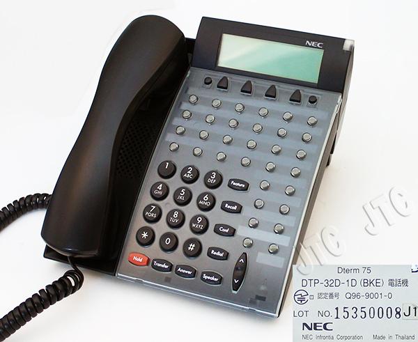DTP-32D-1D(BKE) 32ボタン表示付TEL(BKE)