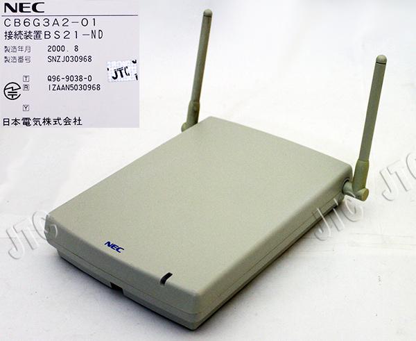 NEC CB6G3A2-01 接続装置BS21-ND