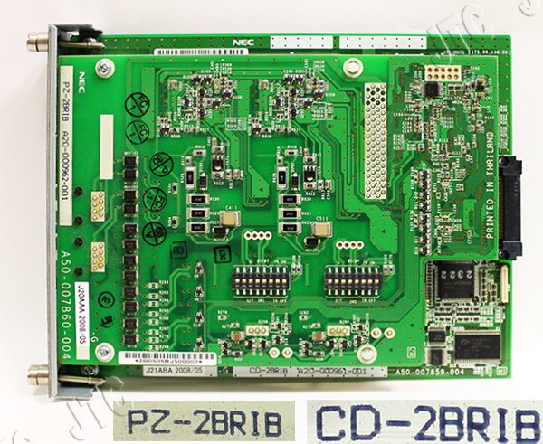 NEC CD-2BRIB+PZ-2BRIB 2回線INS64ユニット+2回線INS64増設ユニット