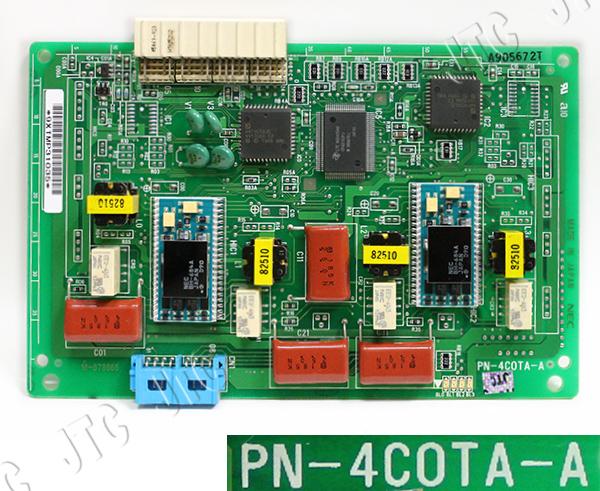 PN-4COTA-A 4回線局線トランクパッケージ