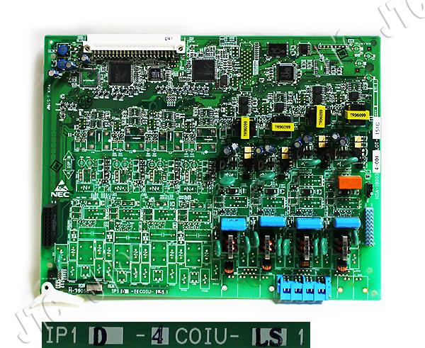 NEC IP1D-4COIU-LS1 4回線アナログ局線ユニット