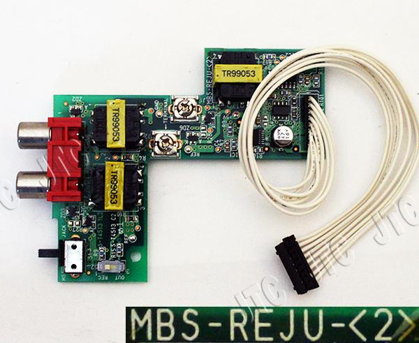 MBS-REJU-(2) 録音ジャックユニット