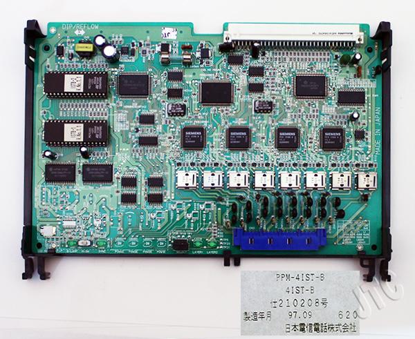 PPM-4IST-B   4ISDN基本局線回路