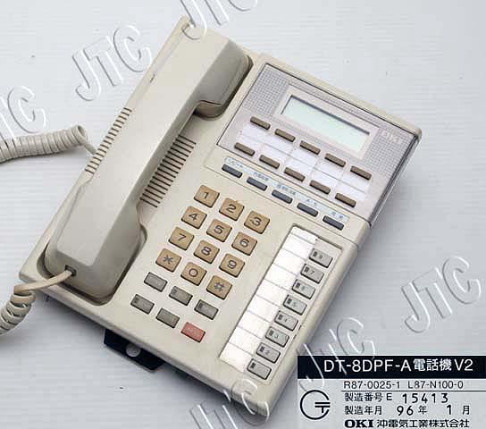 DT-8DPF-A電話機V2 沖ビジネスホン