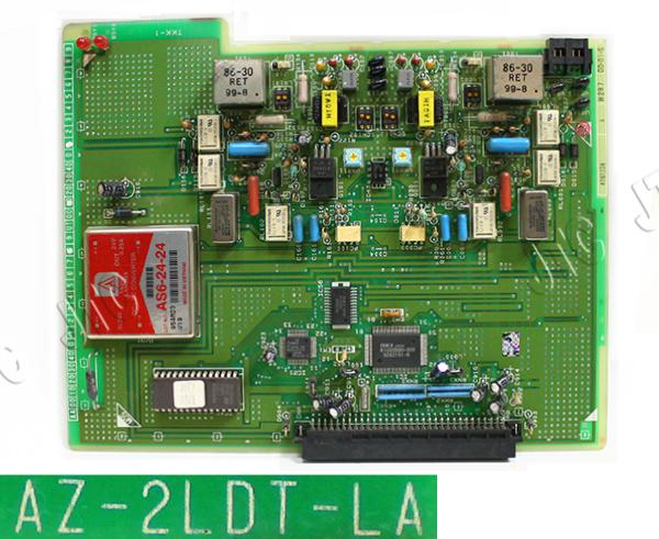 AZ-2LDT-LA 2回線用LD専用線ユニット