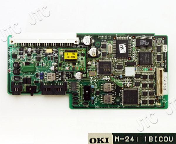 OKI(沖電気) M-24i 1BICOU INSネット64回線ユニット1回線用