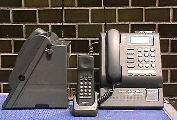 公衆電話機 コードレスPてれほん(PT-3CLN SET)