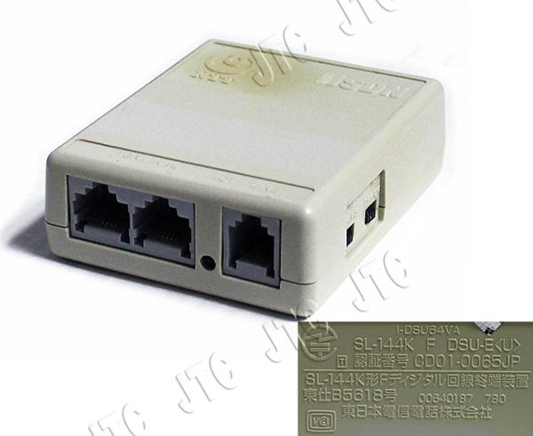 NTT SL-144K F DSU-E SL-144K形Fディジタル回線終端装置