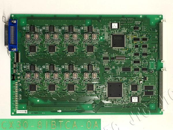 HITACHI CX30-8IBTCA-0A 日立 CX30 8回路ISDN基本インターフェイストランクA