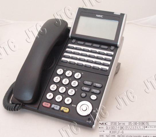 NEC DTL-24D-1D(BK)TEL 24ボタンデジタル多機能電話機(BK)