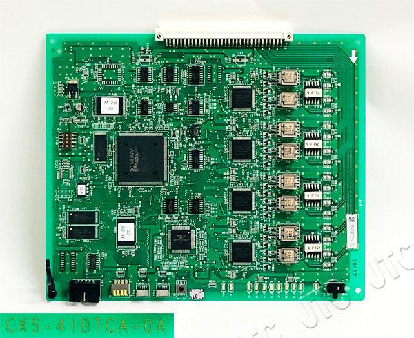日立 CXS-4IBTCA-0A HITACHI CXS 4回路ISDN基本インターフェイストランクA