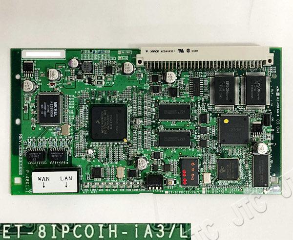 日立 ET-8IPCOIH-iA3/L HITACHI 8チャネルIP局線ひかり電話インタフェース
