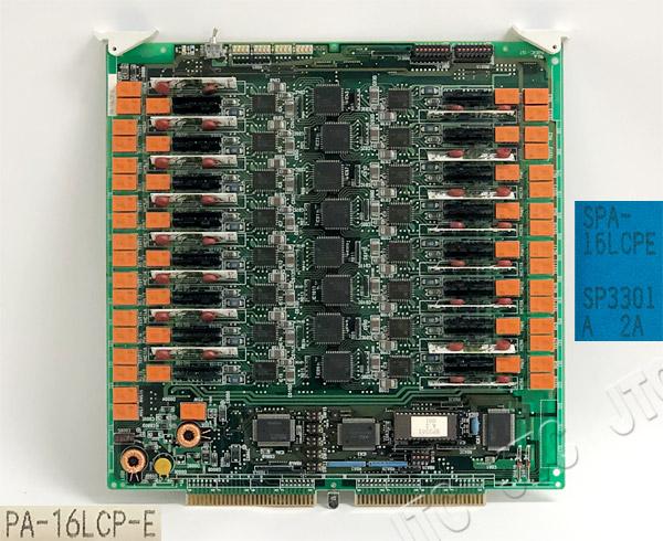 NEC SPA-16LCPE 16回線ライン回路PE