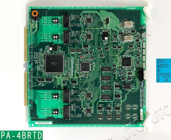 NEC SPA-4BRTD-A 4回線基本インタフェースD