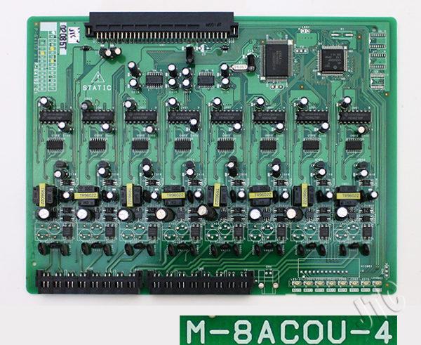 大興電機 M-8ACOU-4 アナログ8回線収容ユニット