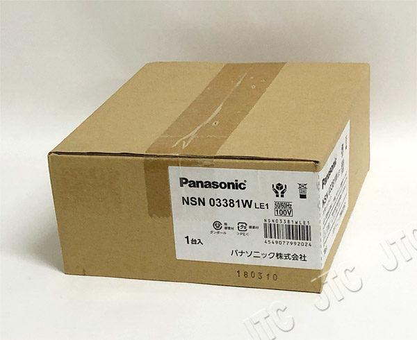 Panasonic NSN03381WLE1 配線ダクト取付型 LED スポットライト