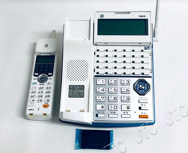 OKI 沖 MKT/ARC-30DKCL 30ボタンカールコードレス電話機 (2枚目)