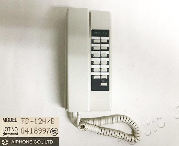 アイホン TD-12H/B コミニカインターホン 12局用親機
