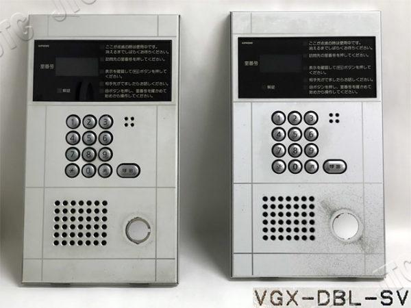 アイホン VGX-DBL-SV VGX形集合玄関機・防雨型(シルバー)キースイッチ穴なし