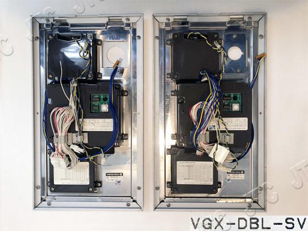 アイホン VGX-DBL-SV VGX形集合玄関機・防雨型(シルバー) 背面画像