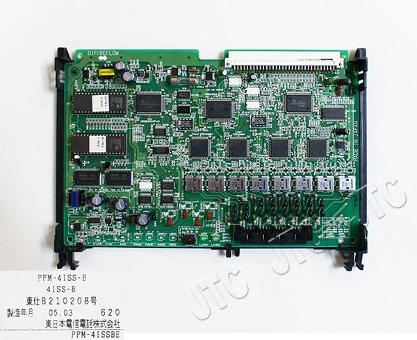 NTT PPM-4ISS-B PPM-4ISDN基本内線回路-B
