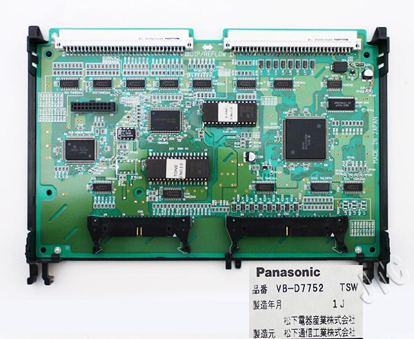 Panasonic VB-D7752 TSW 時分割スイッチユニット(40P〜288P)